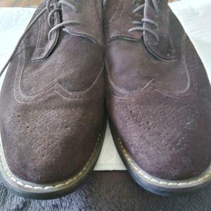 Joseph Abboud Seude Wing Tip Shoes Sz.12 LNC